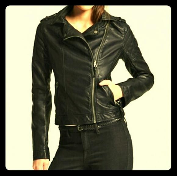8b5cede19b1eb Xhilaration Jackets & Coats | Faux Leather Moto Jacket Biker S ...